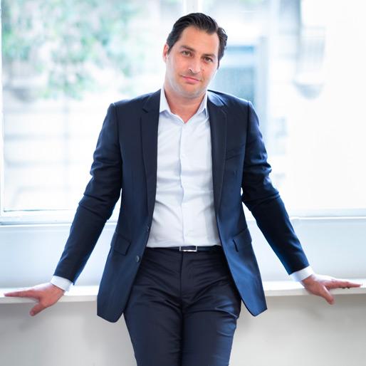 Julien Dupé CEO Infonet