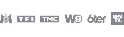 M6 - TF1 - TMC - W9 - 6ter - BFMTV