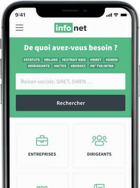 Application mobile Infonet