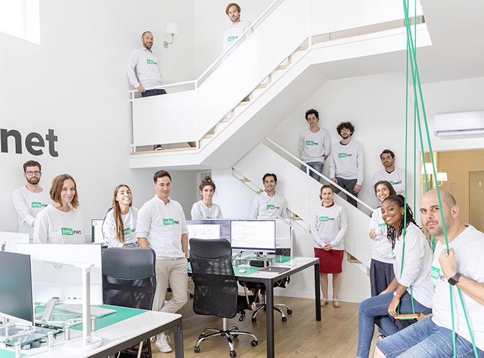 Toute l'équipe dans nos bureaux de Barcelone