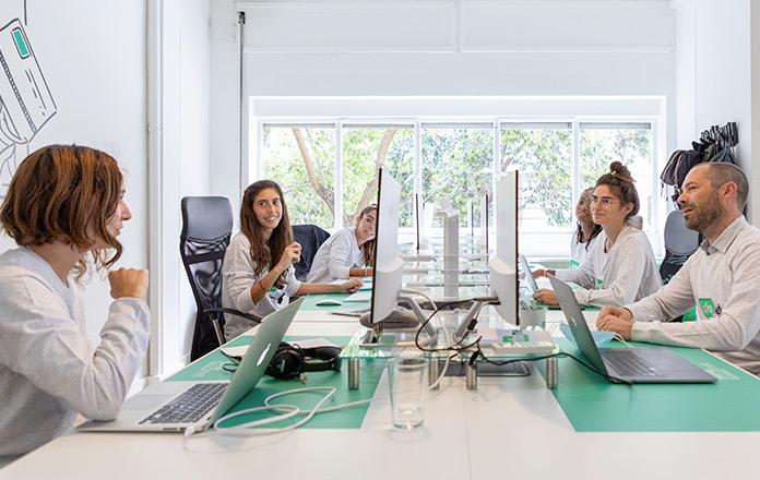 L'open space, propice au travail en équipe